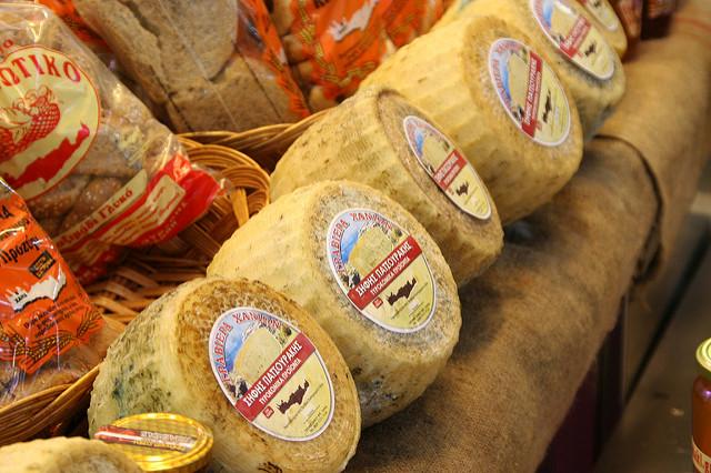 krétai sajtok