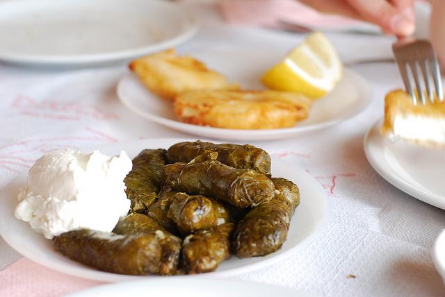 Dolmades - krétai ételek