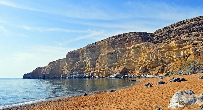 Kokkini Ammos Beach - Kréta