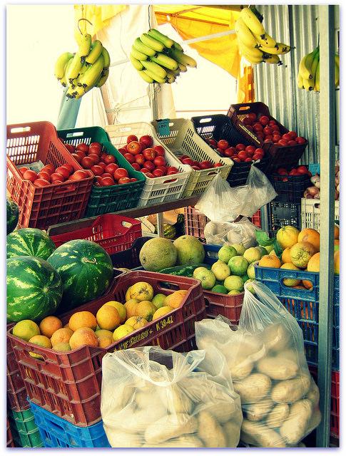 Piac Heraklionban