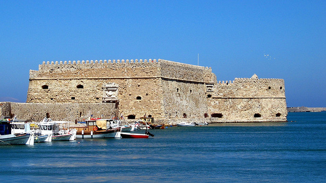 Heraklion velencei erőd