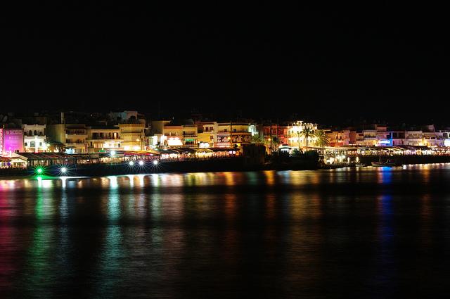 éjszakai élet Heraklionban