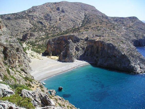 Agiofarago strand Krétán