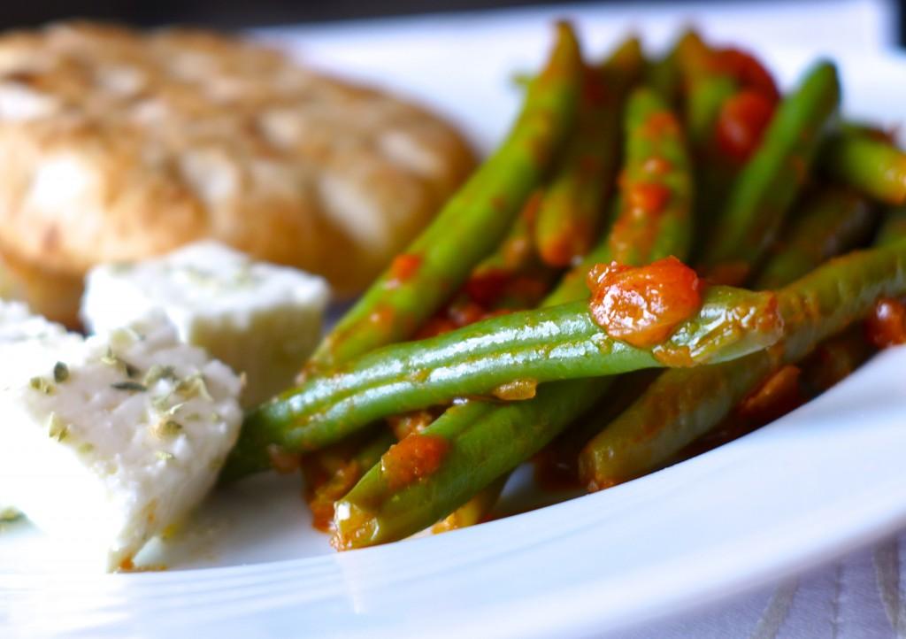 Fasolakia - krétai ételek